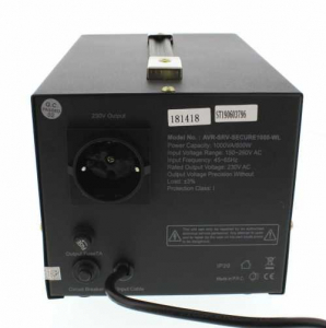 Stabilizator automat de tensiune cu servo motor Secure 1000VA, Well2