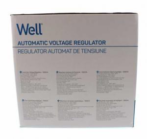 Stabilizator automat de tensiune cu servo motor Secure 1000VA, Well4