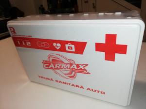 Trusa medicala auto de prim ajutor - Carmax valabila 2025 [1]