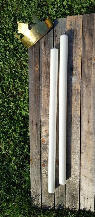 Set 2 Lumanari Nunta H70cm D4,5cm 4