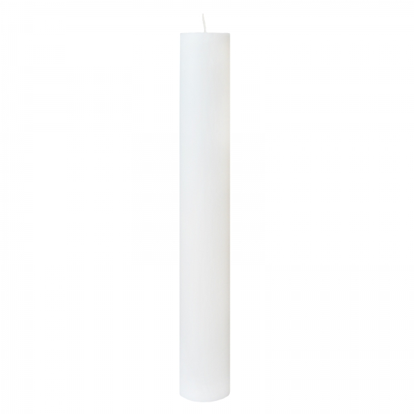 Bax 24 Lumanari Botez H40cm D4,5cm 1