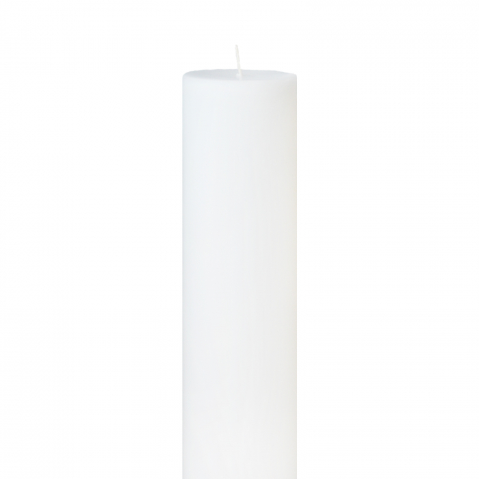 Lumanare Botez Alba H25cm D7cm [1]