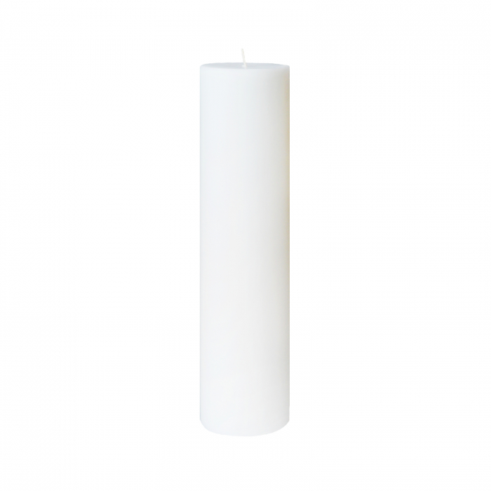 Lumanare Botez Alba H25cm D7cm [0]
