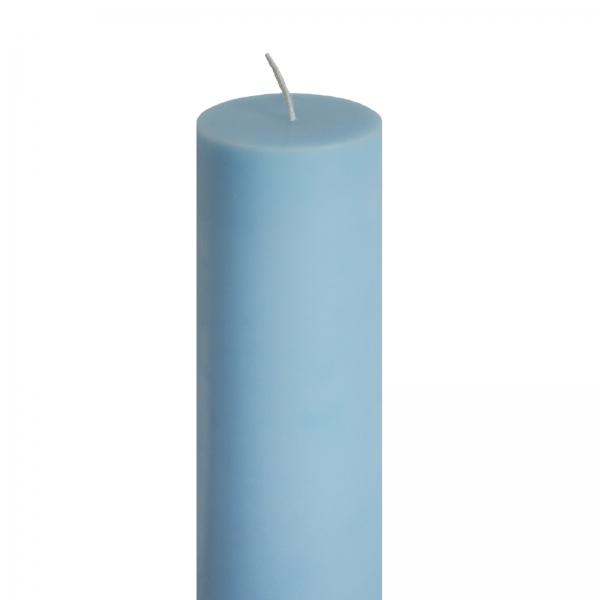 Lumanare Botez Albastra H35cm D7cm 1