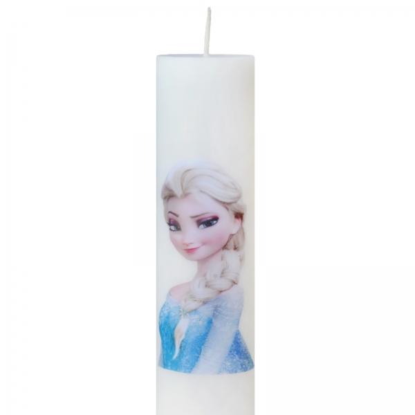 Set 6 Lumanari Botez Elsa H40cm D7cm 1