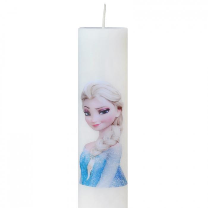 Lumanare Botez Elsa H35cm D5,5cm 1