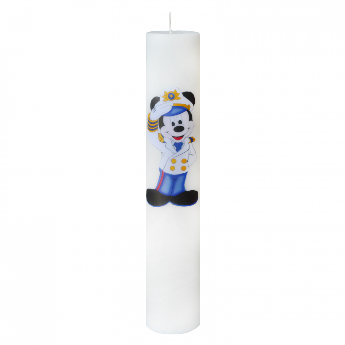 Lumanare Botez Marinarul Mickey H35cm D5,5cm 2