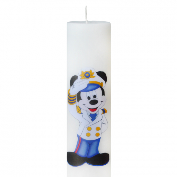 Lumanare Botez Marinarul Mickey H35cm D5,5cm 1