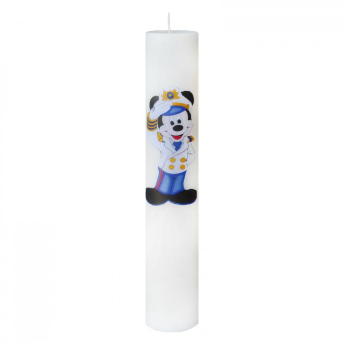 Lumanare Botez Marinarul Mickey H35cm D5,5cm 0
