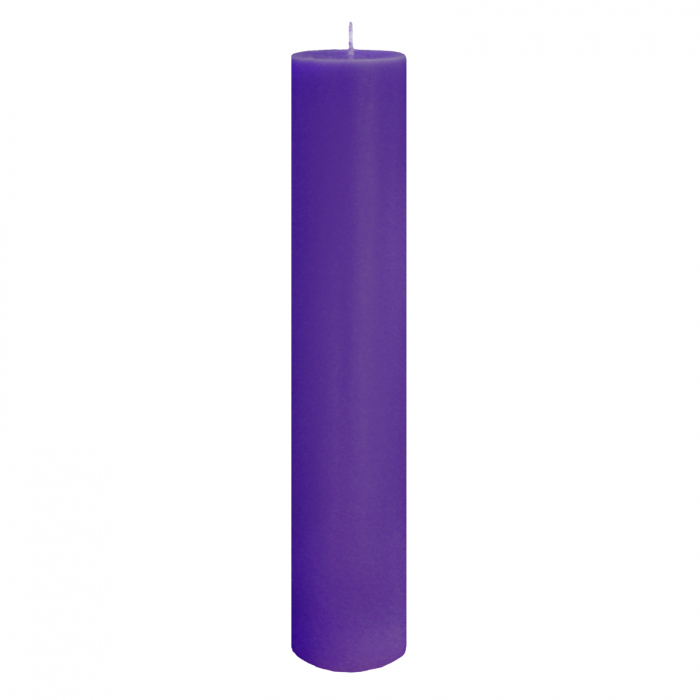 Lumanare Botez Mov H35cm D5,5cm [2]