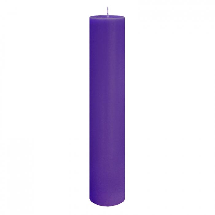 Lumanare Botez Mov H35cm D5,5cm [0]