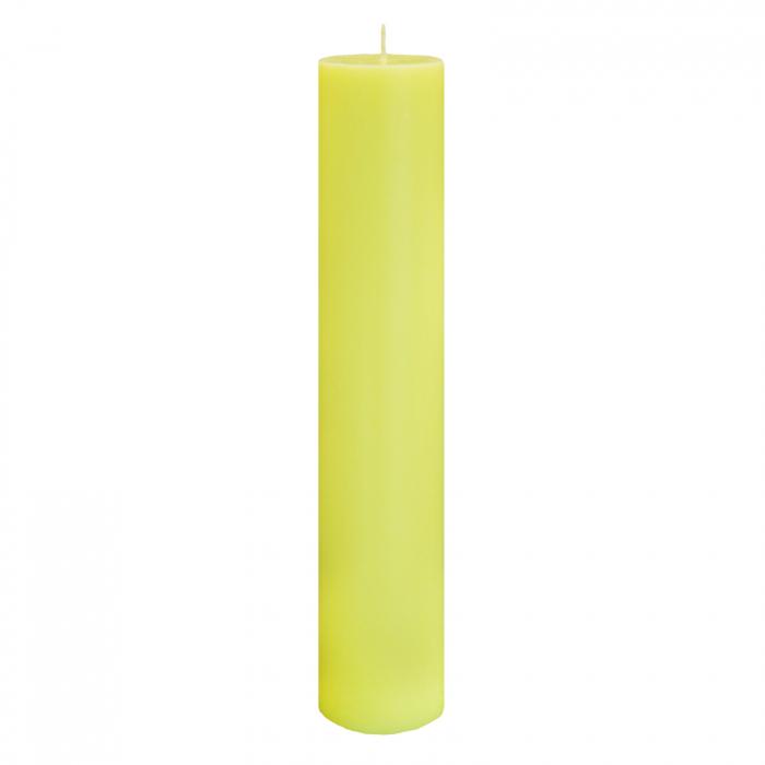 Lumanare Botez Galbena H40cm D7 cm [0]
