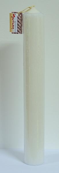 Lumanare Botez Rustica H35cm D4,5cm 2