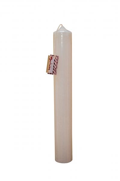 Lumanare Botez Rustica H35cm D5,5cm 2