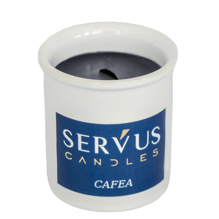 48 Lumanari Parfumate Cafea cu fitil din lemn [2]