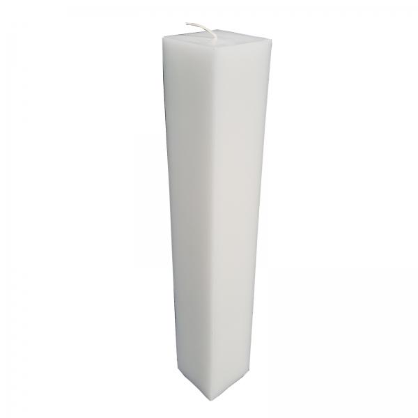 Lumanare Botez Patrata H40cm L5.5cm 0