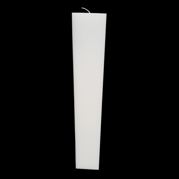 Lumanare Botez Patrata H35cm L5.5cm 1