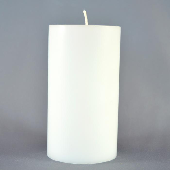 Bax 12 Marturii albe H7cm D5,5cm 3