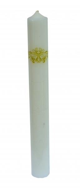 Set 2 Lumanari Nunta model Regal H40cm D5,5cm [2]