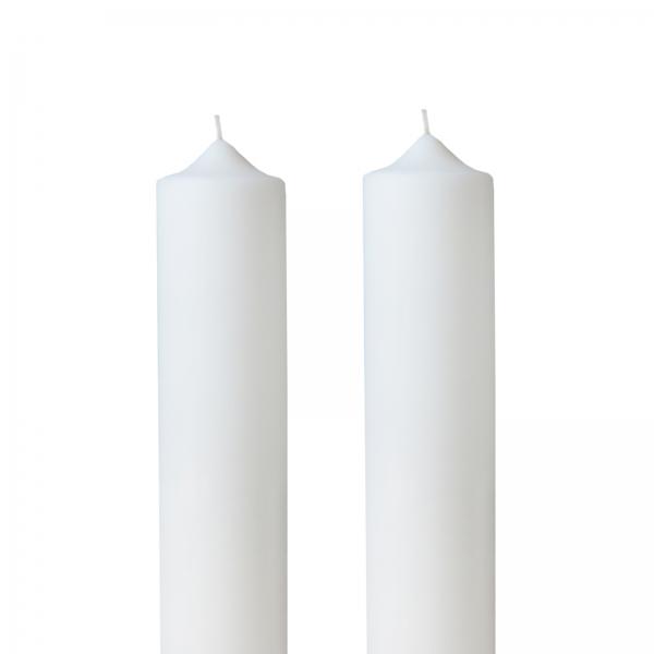 Set 2 Lumanari Nunta, simple, H= 35 cm / D= 4,5 cm 1