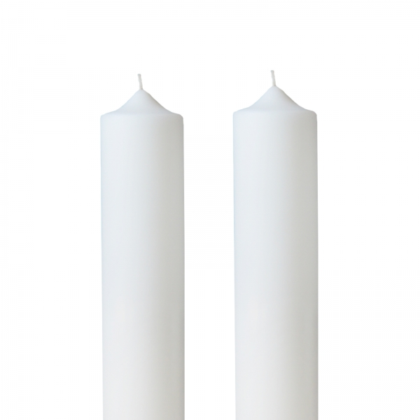 Set 2 Lumanari Nunta H30cm D4,5cm 1