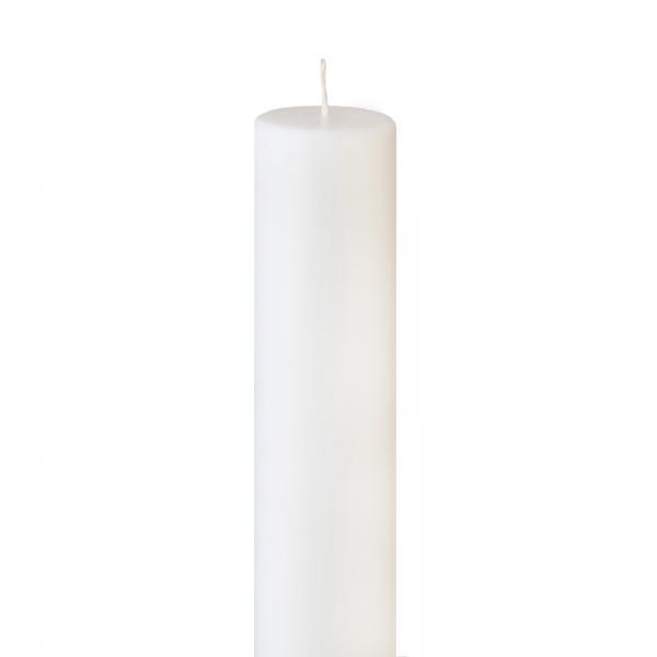 Lumanare Botez Alba H50cm D3,5cm 0