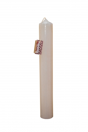 Set 2 Lumanari Nunta model Rustic H40cm D5,5cm3