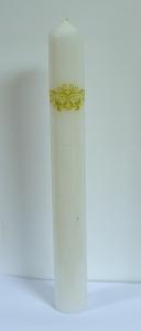 Set 2 Lumanari Nunta model Regal H35cm D4,5cm [5]