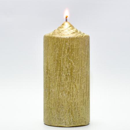 Lumanare AURIE , cilindru 13 cm0