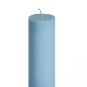 Lumanare Botez Albastra H35cm D7cm1