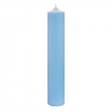 Lumanare Botez Albastra H40cm D4,5cm [3]