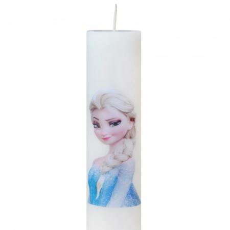 Lumanare Botez Elsa H30cm D5,5cm [1]