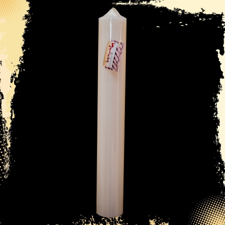 Lumanare Botez H40cm D4,5cm2