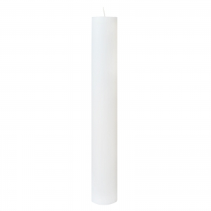 Lumanare Botez Alba H50cm D4,5cm [0]