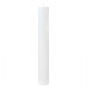 Lumanare Botez Alba H60cm D4,5cm [0]