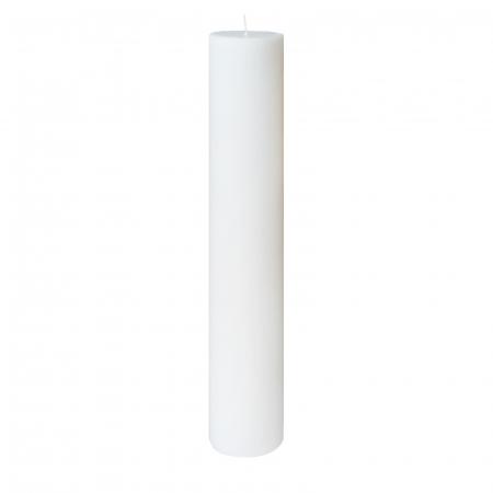 Lumanare Botez Alba H35cm D5,5cm [0]