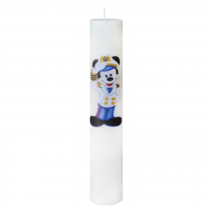 Lumanare Botez Marinarul Mickey H40m D5,5cm0