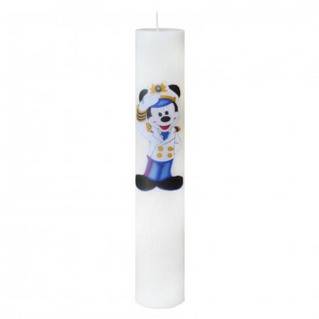 Lumanare Botez Marinarul Mickey H35cm D5,5cm2