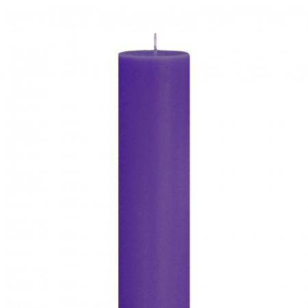 Lumanare Botez Mov H35cm D5,5cm [1]