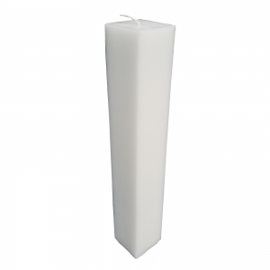 Lumanare Botez Patrata H35cm L5.5cm0