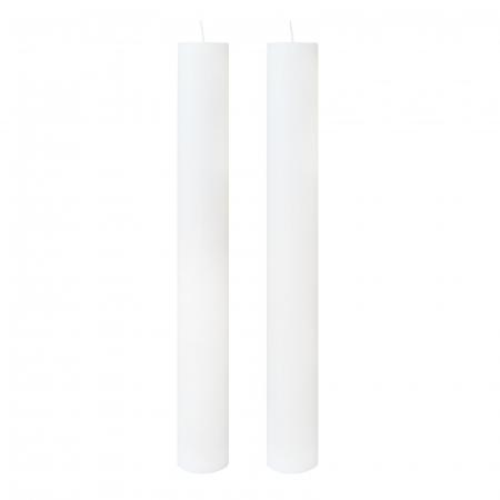 Set 2 lumanari Nunta H70cm D4,5cm [0]