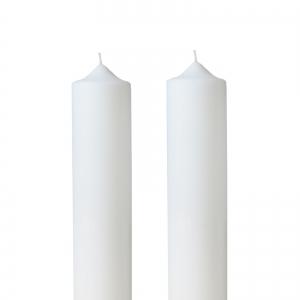 Set 2 Lumanari Nunta H40cm D5,5cm0