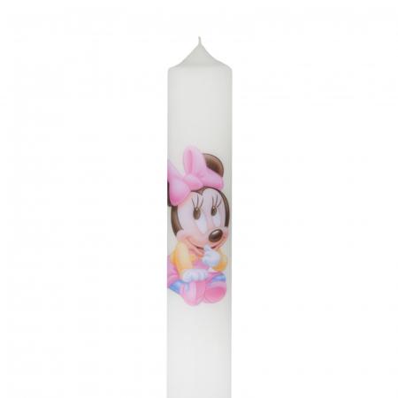 Set 6 Lumanari Botez Baby Minnie H35cm D4,5cm3