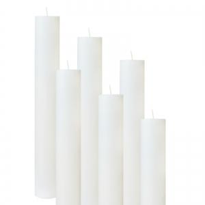 Set 6 Lumanari Botez H50cm D4,5cm [0]