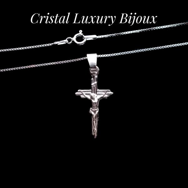 Lantisor argint cu cruciulita 2