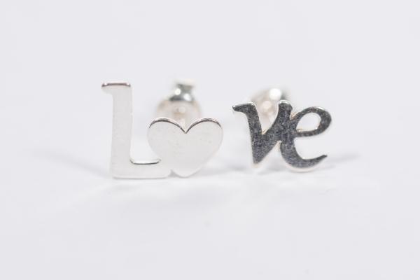 Cercei argint Love 1