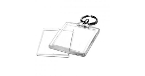 Breloc Personalizat Insertie Foto Plastic 0