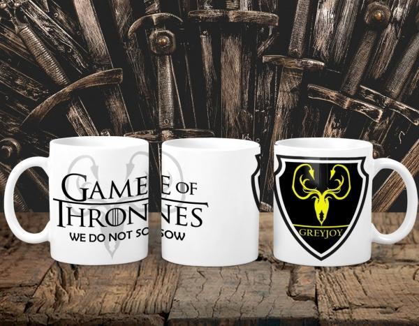 Cana Personalizata Game of Thrones - Greyjoy House 0