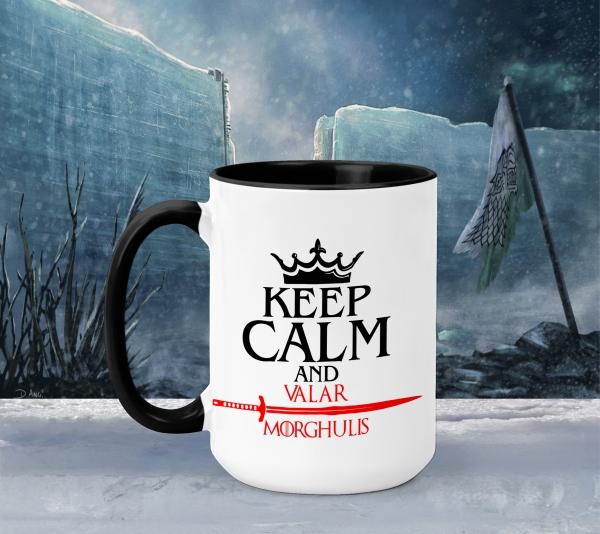 Cana Game of Thrones - Keep Calm And Valar Morghulis 0
