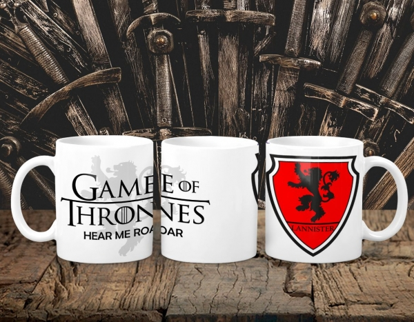Cana Personalizata Game of Thrones - Lannister House 0